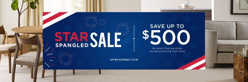 Star Spangled Sale Elizabethtown, KY | Colonial Interiors