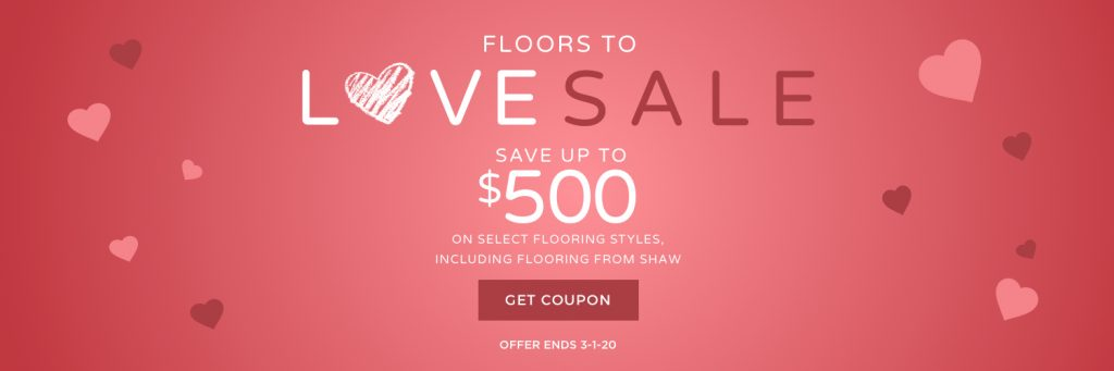 Floors to Love Sale | Colonial Interiors